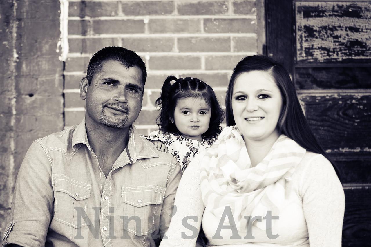 Segura Family 2014 (13)bw