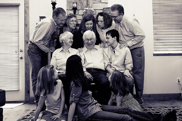 Kristen Family 8bw