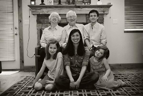 Kristen Family 3bw