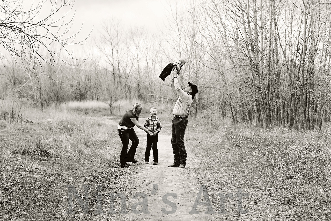 Rigg Family (89)bw