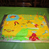 Cake Jenny made for Spencer for his Mad Scientist 7th birthday party! 5/3/2014