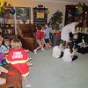 """""""Mad Scientist"""" setting up for Spencer's Mad Scientist 7th Birthday party, 5/3/2014"""