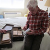 Frank collected stamps for many years. 2/23/2014