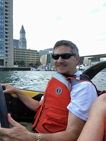August -  Mini Speed Boat Tour