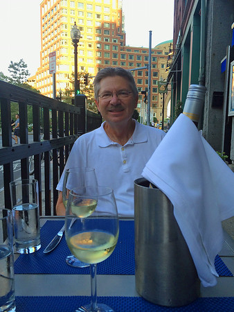 August - Dinner at Blue Inc