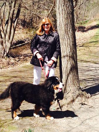 April Easter Walk with Logan