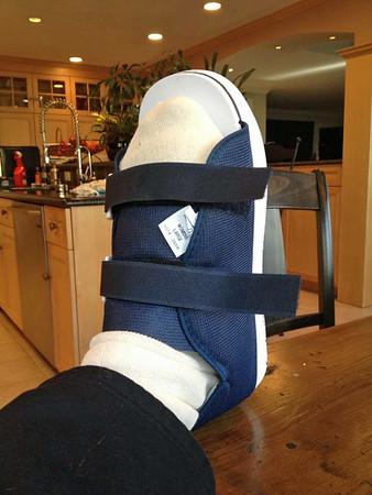 January Nancy's Foot operation