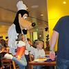 Ruby, Goofy, Charlie, dinner with Chef Mickey at the Contemporary Hotel, Disney, 11/25/2014, Jenny's camera