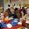 Bryan, Spencer, Matthew. Dinner with Chef Mickey, Contemporary Hotel, Disney, 11/25/2014
