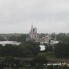 Disney castle from the Contemporary Hotel, Disney, 11/25/2014, Jenny's camera