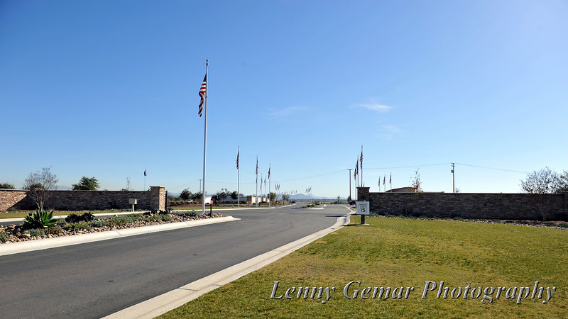 "Entrance to the Miramar National Cemetery. Info at <a href=""http://www.cem.va.gov/cems/nchp/miramar.asp"">http://www.cem.va.gov/cems/nchp/miramar.asp</a>"