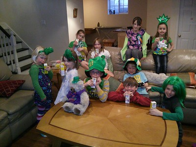 MARCH - Happy St. Patrick's Day!  Party @ Kathy & John's