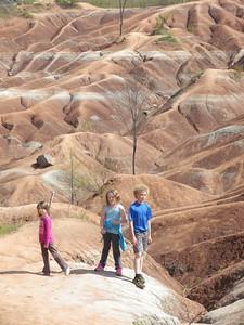 Thanks to Dasha we discovered the Chetlenham Badlands