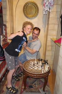Gavin beats Kent at Chess.... again!