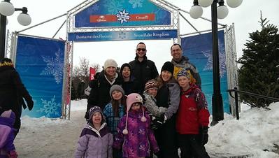 Visiting friends in Ottawa for Winterlude