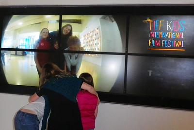 APRIL - Nicole & Grandma take the kids to TIFF