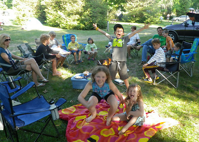 JULY - Another fun camping trip with good friends from Guelph - this time to The Sandhill near Long Point