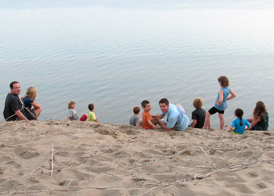 The sandhill is amazing
