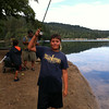 Fishing at Lake Gregory