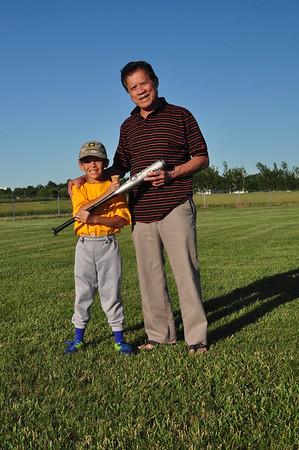 2014-06-23 Dylan Last Baseball of the Season