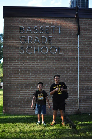 2014-08-13 First Day of School