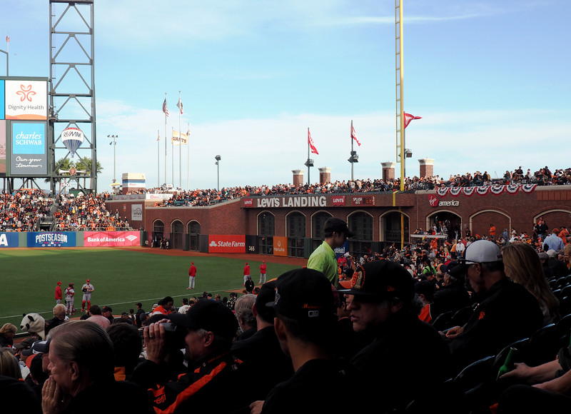 AT&T Park is a funky, neat park.
