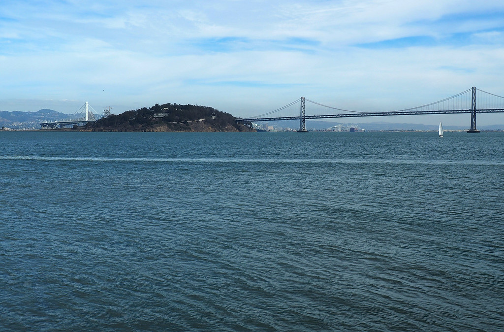 Oakland Bay Bridge and Treasure Island