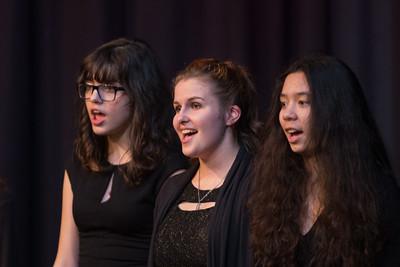 the school music concert