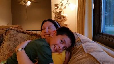 2014-09-17 Dylan & Mom
