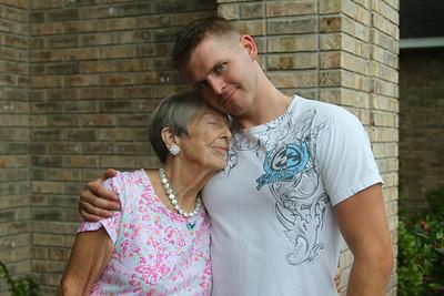 Mom and Chris