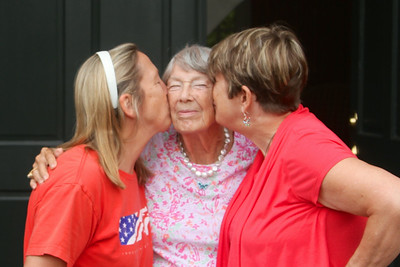 Mom, Debbie, Donna