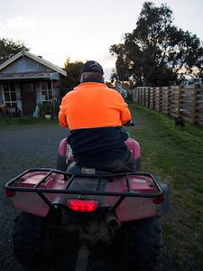 Farmer Eric gives us a tow