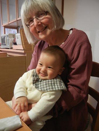 Nana and Grandad come to Kochi