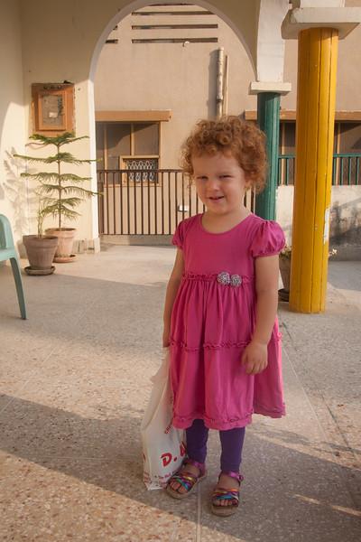 Sienna's first day of preschool!