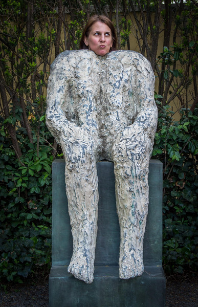 'Sage' Magdalena Abakanowicz 1988 - metal: bronze