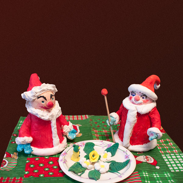 Santa Claus - two of them