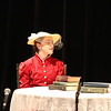 Aliyah as Mrs. Prism in The Importance of Being Earnest