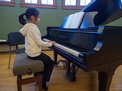 Winter piano recital
