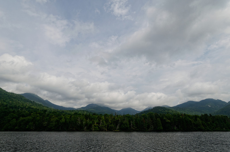 2014.07.29-2014.08.01 trip to the Upper Ausable Lake in the High Peaks area of the Adirondack Mountains, NY.