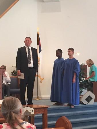 2015 - 08 - Justin Baptism