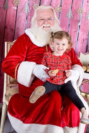 2015-11-20 Brielle Santa Pictures