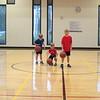 Matthew, Bryan, Spencer, Highland Rec playing basketball, 8/29/2015