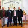 Steffen Schiller-Burgermeister of Brandenburg, Steve Gerard-my cousin, Florian Schmidt-Vice Major and Ron