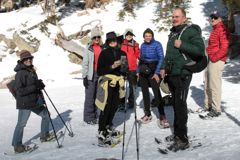 Snowshoeing in Rocky Mountain National Park - Emerald Lake