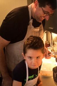 Cooking Nate's Birthday Cake
