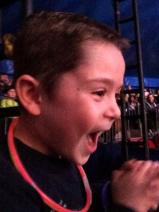 Nate loves the circus!