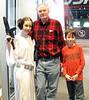 SMM 2/28/2015 Science Museum of Minnesota  with Princess Leia and Nolan