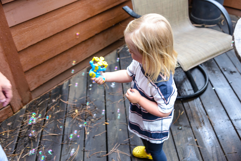 Wow!  A battery powered bubble gun.