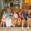Grandpa and Grandma with our precious grandchildren - Ruby, Bryan, Spencer, Matthew, Charlie, Clearwater, FL, 7/13/2015