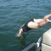 Ellen diving